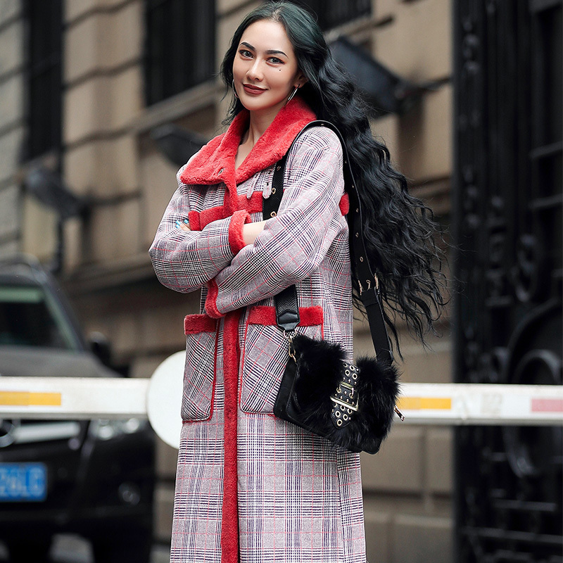 Real Fur Coat Female 100% Wool Jacket Autumn Winter Coat Women Clothes 2020 Korean Sheep Shearing Fur Tops Abrigo Mujer YY1812