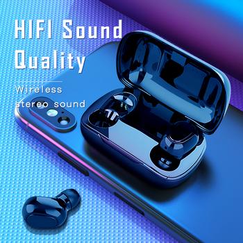 Słuchawki Bluetooth słuchawki L21 HIFI dźwięki słuchawki bezprzewodowe zestaw głośnomówiący słuchawki Stereo do gier dla iphone Samsung tanie i dobre opinie KUGE Inne Bezprzewodowy + Przewodowe Do Internetu Bar Monitor Słuchawkowe Do Gier Wideo Wspólna Słuchawkowe Dla Telefonu komórkowego