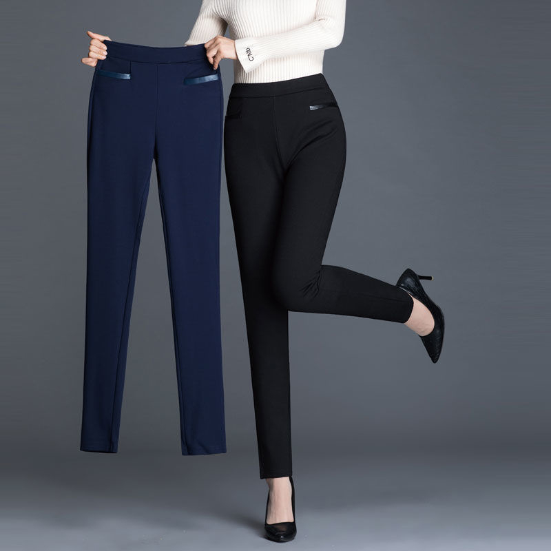 2020 Spring Summer Trousers Outer Leggings Ladies Black Women Pants Large Size Autumn And Winter Casual Pants Leggings NUW983