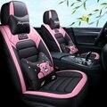 Полностью Покрытые эко-кожаные чехлы для автомобильных сидений из искусственной кожи чехлы для автомобильных сидений для lexus ct is es jsf lc ls gx lx ...