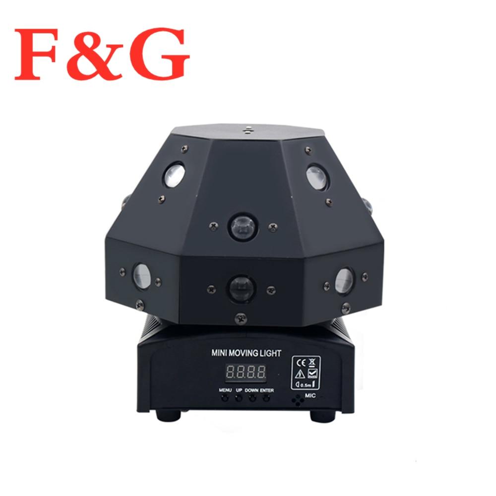 F&GFast Shipping RGB Stepless Moving Head Stage Effect Laser Light For Dj Disco Dmx Control Beam Work With Smoke Machine Spot Wa