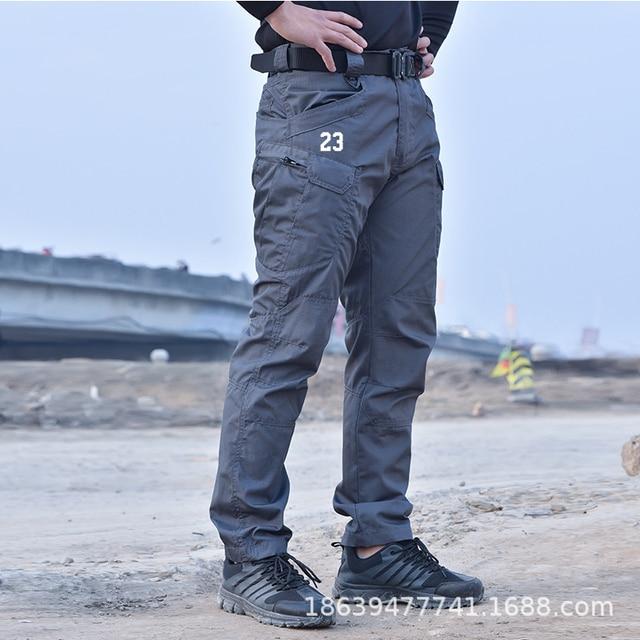 Men Tactical Clothing Cargo Pants Overalls Men's Pants Outdoor Quick Dry Waterproof Trousers for men Military Pants Workwear 3