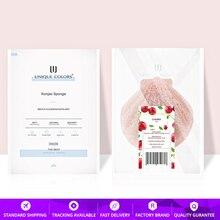 Cherry Blossom Konjac Spugna Organico Naturale Pulizia Del Viso forma di Pettine Originale Konjac Detergente per la pelle Sensibile