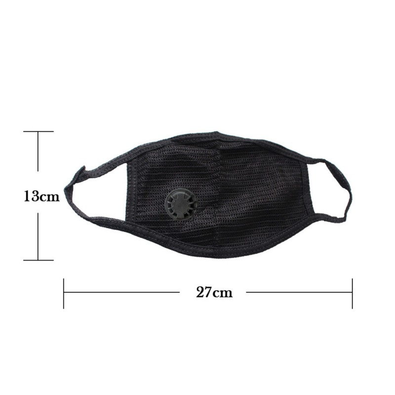 Cotton Black Mouth Mask Anti Dust Mask Activated Carbon Filter Windproof Mouth-muffle Bacteria Proof Flu Face Masks Care Hot 7