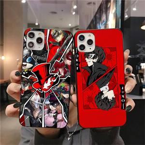 Роскошный Уникальный чехол HUAGETOP Persona 5 для iPhone 11 pro XS MAX 8 7 6 6S Plus X 5S SE 2020 XR