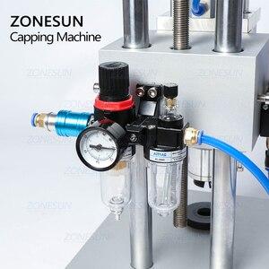 Image 2 - ZONESUN машина для укупорки полости рта, жидкость для пенициллина, антибиотик, впрыска в бутылки, алюминиевый пластиковый флакон, щипцы