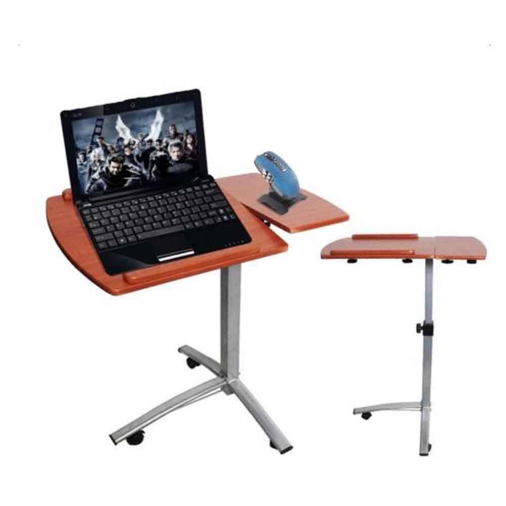 Lifting Computer Desk Home Use Multifunctional Lifting Computer Desk Brown Wood  Steel Ship From US|Laptop Desks| |  - title=