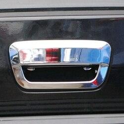 Samochód akcesoria z abs chromowanego z tyłu tylne drzwi pokrywa misy wykończenie do klamki do Jeep Grand Cherokee 2011 2012 2014 2015 2016 2017 na