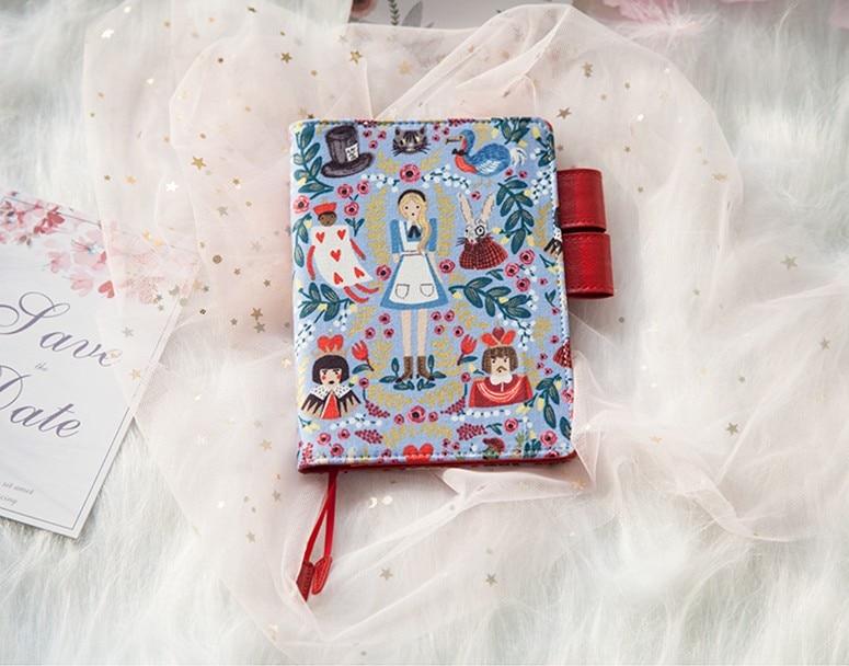 Японский A6 a5 записная книжка, канцелярские принадлежности, дневник, альбом, hobo технические характеристики, Обложка в японском стиле, Алиса в...