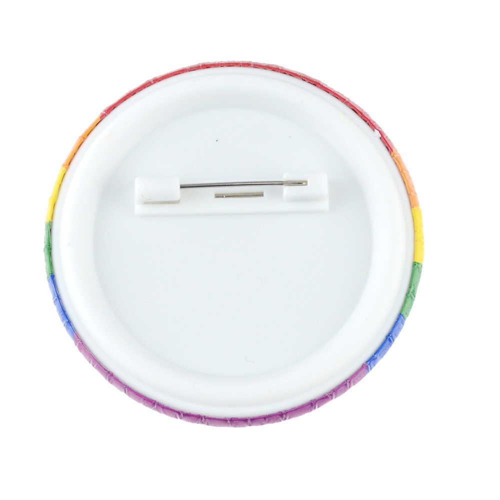 1 Pc Lgbt Pride Regenboog Vlag Blik Badge Ondersteuning Gay Lesbische Biseksueel Transgender Symbool Pin Lgbt Pictogrammen Broche