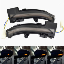 2x LED Dynamic Turn Signal Light Rearview Mirror Blinker Indicator For Skoda Octavia Mk3 5E 2013 2014 2015 2016 2017 2018 2019