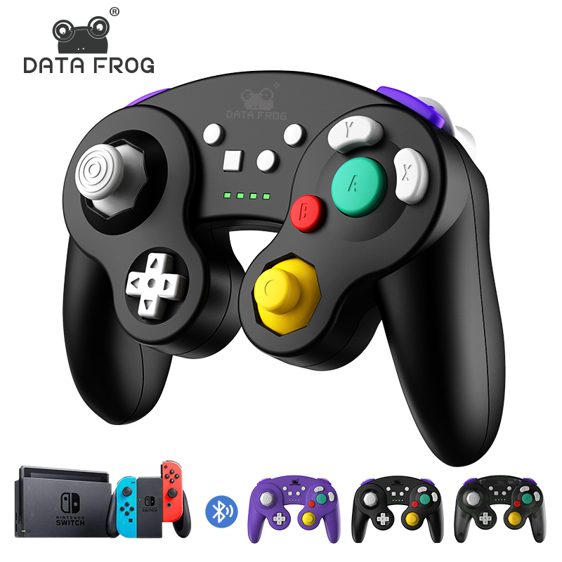 DATA FROG Wireless Bluetooth Game Controller For Nintendo Switch Pro Gamepad Vibration Joystick for NS Lite TV BOX PS3 Android