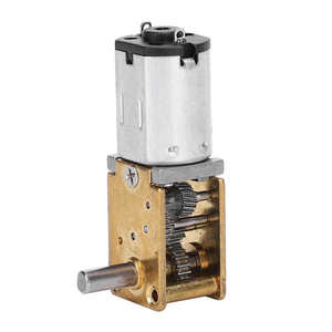 cnc milling machine paper cutter Mini Gear Motor Micro Worm Gear Reducer Brush DC Motors Electronic Devices 1218GE‑N20