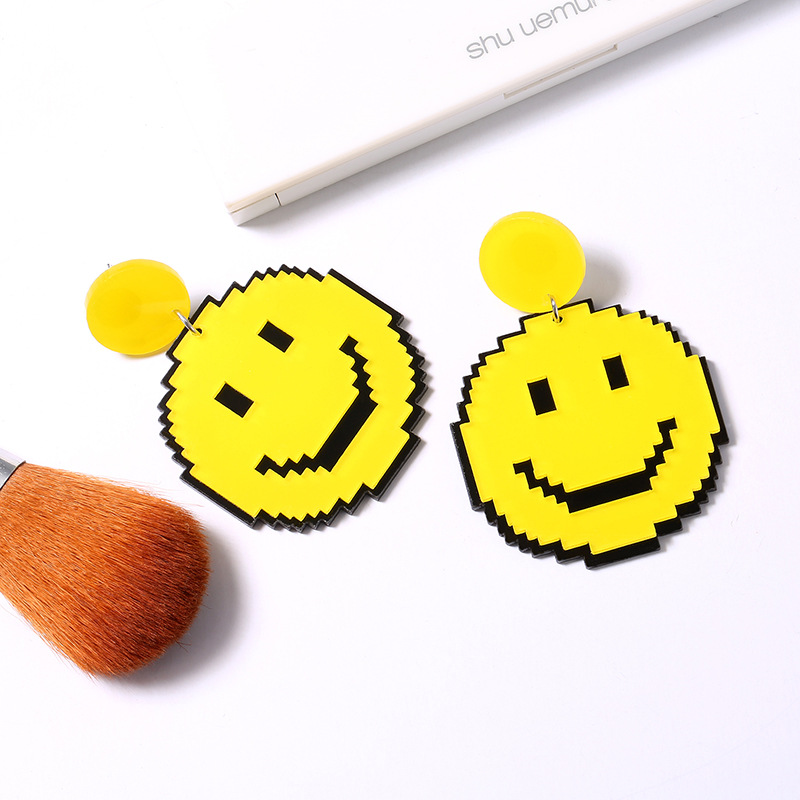 Yellow Smile Earrings 3