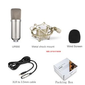 Image 5 - 내 마이크 UP890 전문 콘덴서 마이크 녹음 스튜디오 마이크 포드 캐스팅