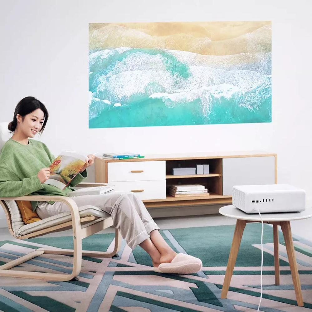 Image 5 - Xiaomi Mijia ALPD3.0 Laser Projector 2400 ANSI Lumens Resolution 150 Inch Screen Wifi bluetooth Dual 10W SpeakerSmart Remote Control   -