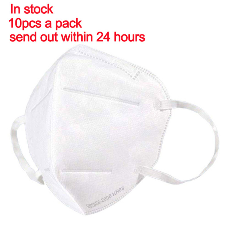 10pcs KN95 Face Masks Reusable Masque  Mask Mouth Caps As KN95 KF94 FFP2 Mouth Cover Dust Masks