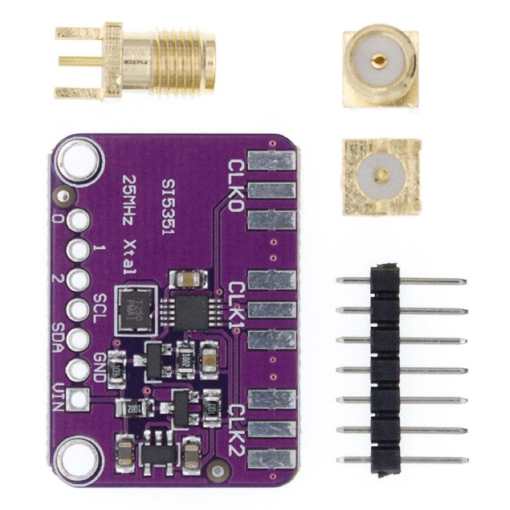 10 шт. DC 3V-5V CJMCU-5351 Si5351A Si5351 I2C генератор часов Breakout Board модуль генератор сигналов часы 8KHz-160MHz
