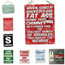 Vintage Replica Bike Cycle Tin Sign Metal TIN  Bar Pub Home Wall Stickers Retro Art Poster