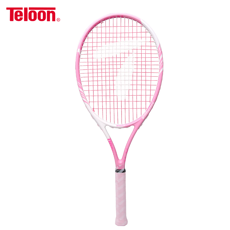 Teloon Super Light Tennis Racket For Lady Beginner Women Integral Forming Broken Wind Frame Professional Tenis Racquet K021SPA
