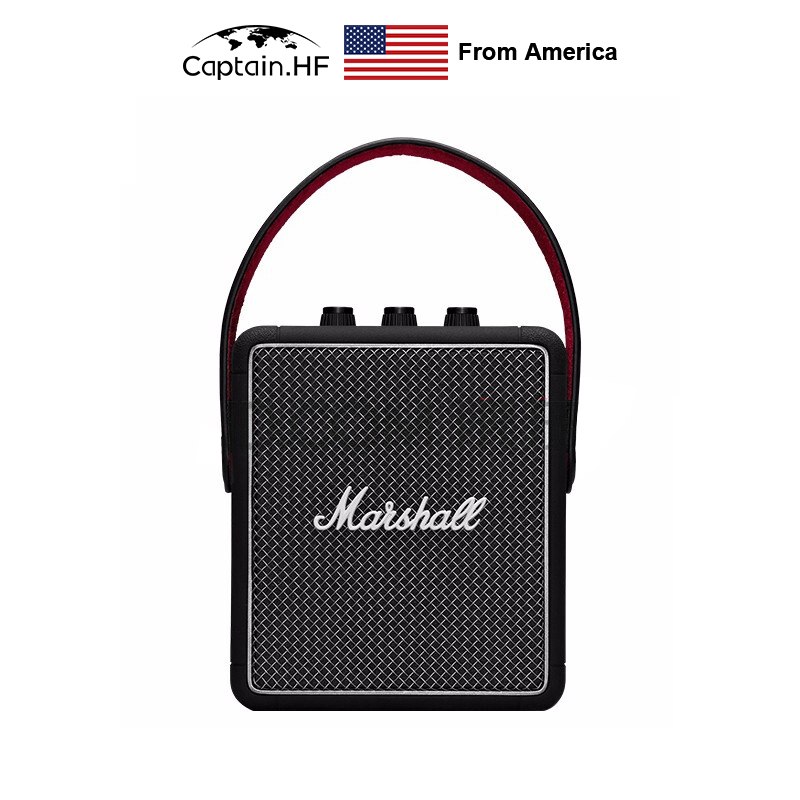 US Captain Portable Wireless Bluetooth Speaker Series Stockwell II, Playtime 20+h ,IPX4 Water-resistant