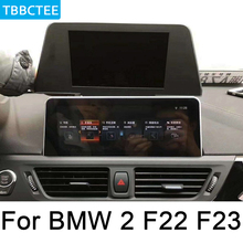 For BMW 2 F22 F23 2015~2017 NBT Android multimedia player HD Screen Stereo Car radio GPS Navigation WiFi BT System for bmw 2 series f22 f22 f23 2018 2019 evo car android radio gps multimedia player stereo hd screen navigation navi media