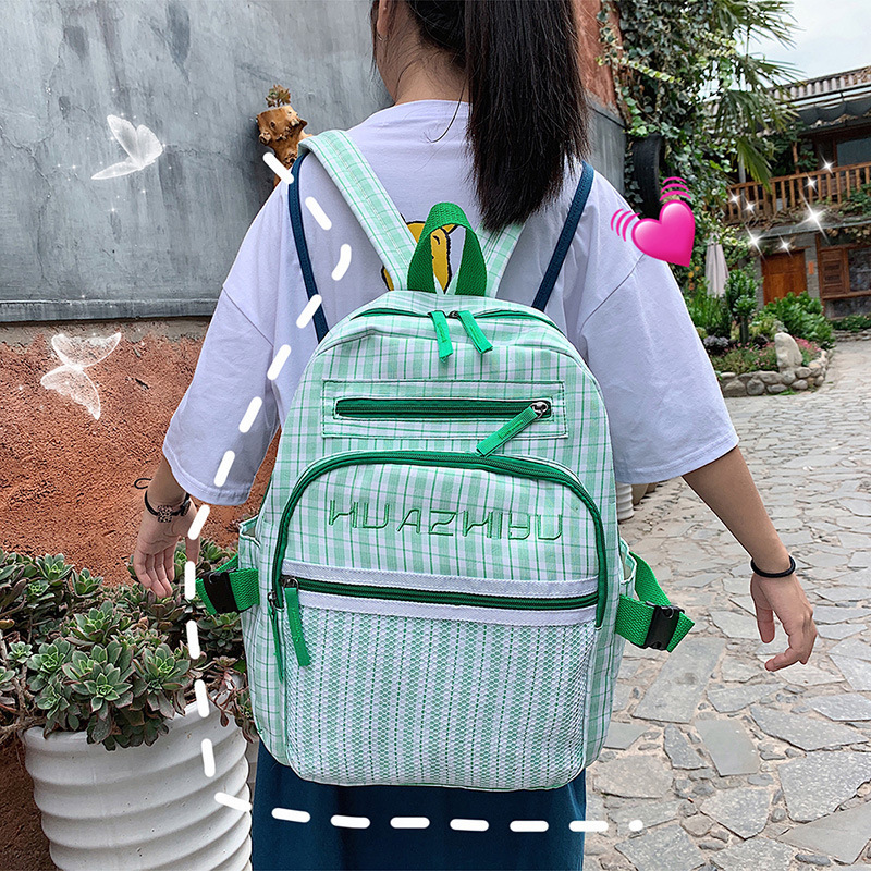 Korean Version, Versatile Campus, Junior High School Students, Backpackers, Women's Fashion, British Backpackers