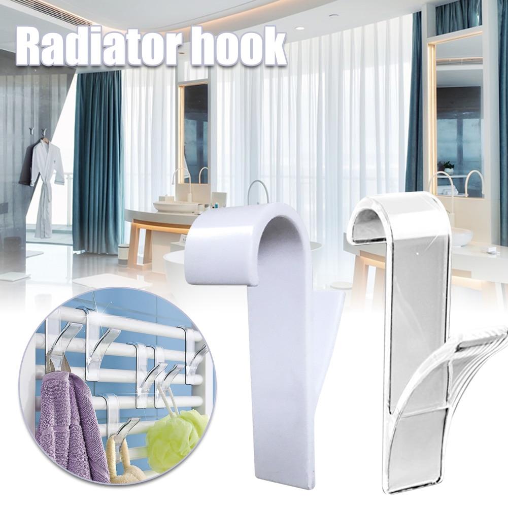 Hanger For Heated Towel Radiator Rail Bath Hook Holder Clothes Hanger Scarf Hanger UND Sale