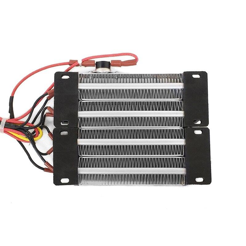 AC DC 220 В 1000 Вт утепленная PTC керамический нагреватель воздуха 140*102 мм Детали электрических нагревателей