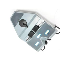 Cyfrowy pupilometr optyczny PD linijka LCD 40-80mm miernik źrenicy Interpupillary Test 35EC