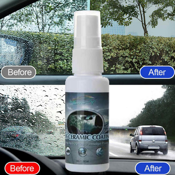 Automobile Windshield  against  Water Agent Car Windows Waterproof Rainproof Nano Hydrophobic Coating Car Care Accessories Tools 30ml hardness 10h super hydrophobic car glass coating car liquid coat paint care durability anti corrosion coating set