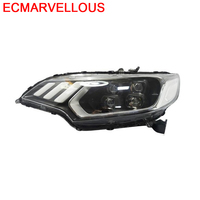 Accessory Drl Led Auto Daytime Running Side Turn Signal Assessoires Headlights Rear Car Lights Assembly 17 18 FOR Honda Fit
