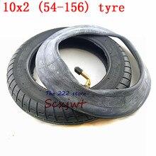 10 дюймовая шина для электроскутера Xiaomi Mijia M365, 10x2 надувная шина колеса, внутренняя труба WanDa 10x2 (54 156), пневматическая шина