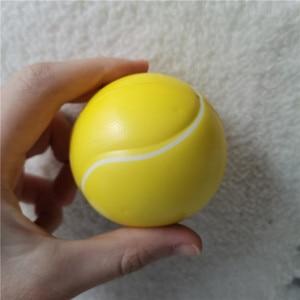 Image 5 - 12 stücke Kinder Weiche Fußball Basketball Baseball Tennis Spielzeug Schaum Gummi squeeze Bälle Anti Stress Spielzeug Bälle Fußball 6,3 cm