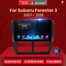 Junsun V1 2G+ 32G Android 8,1 автомобильный Радио Мультимедиа Видео плеер навигация gps для Subaru Forester 3 2007-2013 2 din Авто без dvd