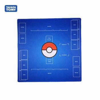 цена на Pokemon PTCG board game card pad monster Trading Card Game Pokemon Playmat Card Table Game Duet Battle Arean