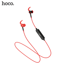 HOCO TF Card Bluetooth Earphones Wireless Headset with Mic for iPhone Xiaomi Samsung Stereo In Ear Hook Earbuds Sports Running