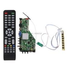 スマートネットワークMSD338STV5.0 ワイヤレスtvドライバボードユニバーサルled lcdコントローラボードのandroid wifi atvwholesaleドロップシッピング