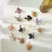 Ацетат смолы коготь волос сладкий в стиле Феи бабочки заколка