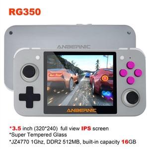 """Image 5 - HEYNOW RG350 Retro spielkonsole HDMI Ausgang 3.5 """"IPS Bildschirm 10000 + Spiele 18 Emulator Linux System Handheld Spiel player Beste Geschenk"""