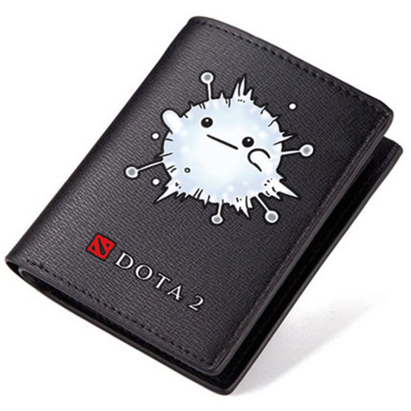 Dota Dota 2 Ti9 SF Nevermore Guardian Wisp Panda Printing Men Long Purse With Coin Pocket Pu Short Gift Wallet Id Card Holder