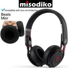 "Misodiko החלפת אוזן רפידות כרית ערכת עבור פעימות על ידי ד""ר דרה Mixr Wired על אוזן אוזניות, תיקון חלקי Earpads"