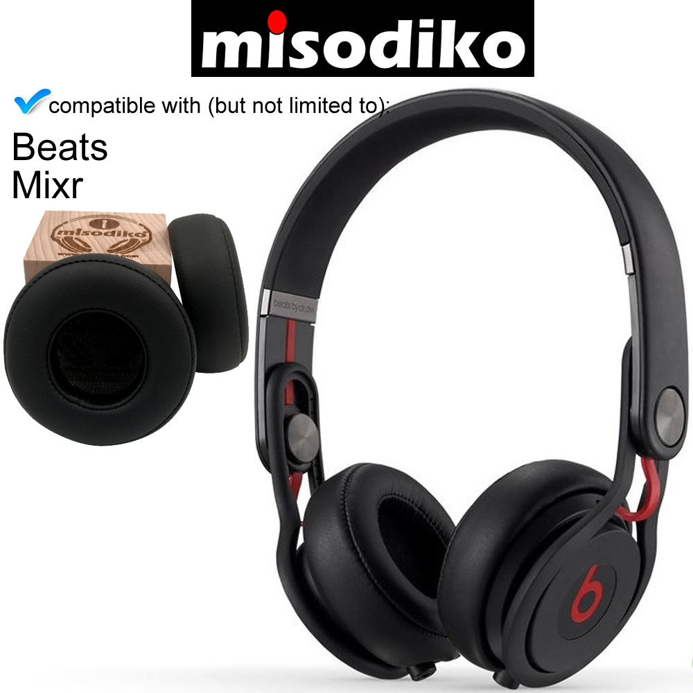 misodiko Replacement Ear Pads Cushion Kit   for Beats by Dr. Dre Mixr Wired On Ear Headphone, Repair Parts EarpadsEarphone Accessories   -