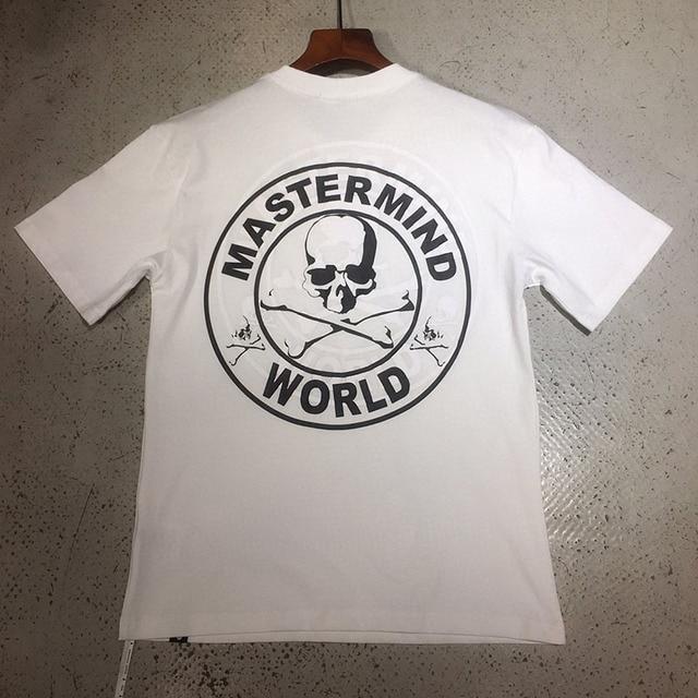 11 meilleure qualité 2020 double joint imprimé cerveau monde japon MMJ crânes t-shirt hommes femmes T-shirts coton T-shirts hommes