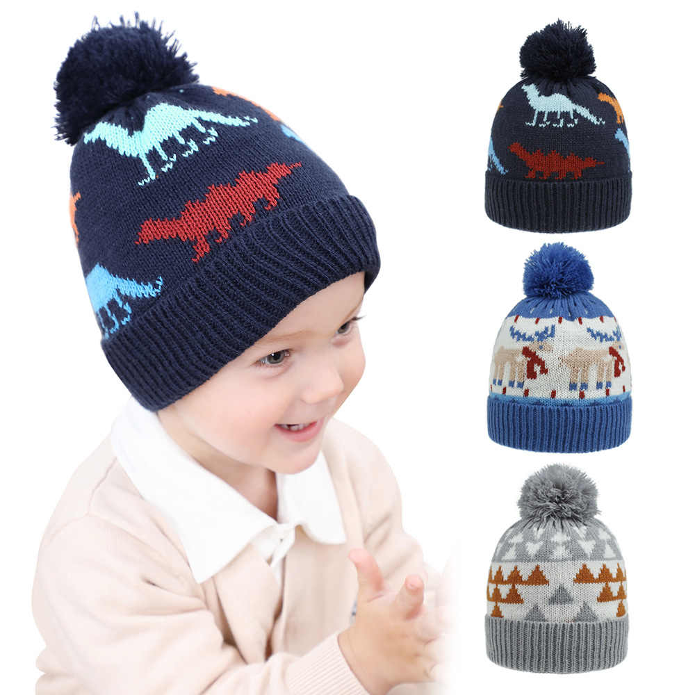 baby babies bobble hat pink blue boy boys girl girls pull on warm winter hats