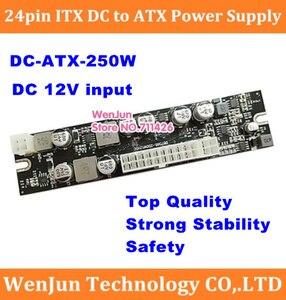 Image 1 - طاقة عالية 250 واط تيار مستمر 12 فولت المدخلات ATX الذروة PSU بيكو ATX التبديل التعدين PSU 24pin ITX تيار مستمر صغير إلى سيارة ATX الكمبيوتر امدادات الطاقة للكمبيوتر