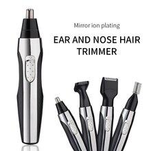 Электрический триммер для носа в носу для шеи бровей для удаления волос для бритья бритва для удаления волос в носу для носа и ушей тример для носа мужчин и ушей триммер для бороды машинка для стрижки волос в носу