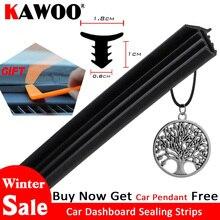 Tiras de sellado para salpicadero de coche, pegatinas de diseño Universal para Toyota, Honda, Ford, BMW, Hyundai, KIA