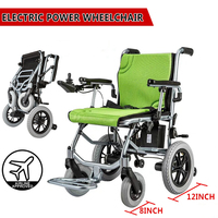 Lightweight Wheelchair Mobility Electric Power Portable Wheelchair Folding For Old Elderly Disabled Aged
