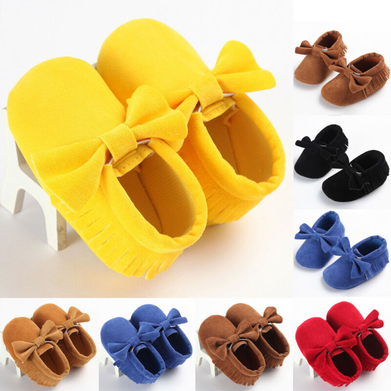 Pudcoco Newborn Baby Infant Toddler Shoes Pram Casual Sole Prewalker Antislip Sneaker SW